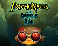 PlayStation Store Production Psychonauts