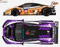 Lamborghini Huracan GT3 S.56 Racing #56 #24