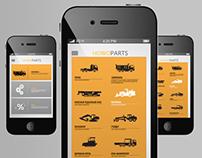 HOWOPARTS / branding, website