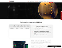 Trading Advantages with FXworld ~ Webfolio
