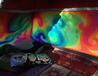 Fluorescent Rainbow Tent(s)