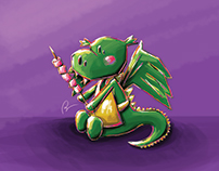 Mashmallows dragon