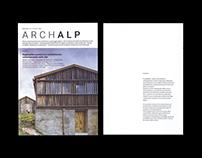 Archalp - Alpine Architecture Magazine