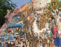 Mural Bicentenario de México