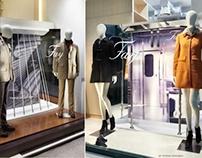 Tod's Group - FAY - Window display Fall/Winter 2012-13