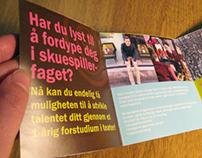 Oslo musikk- og kulturskole - Flyer and poster
