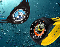SWATCH - SPORT ACTIVE Fun Scuba - Fun Boarder - watches