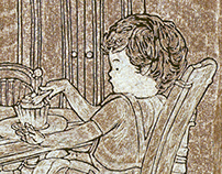 Table manners for kids - Illustration