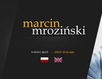 Marcin Mroziński Page