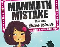 "Maude Guense illustrates ""Starring Olive Black"""