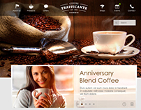 Coffeeshop Website Concept