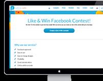Like & Win app