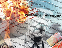William S. Burroughs_Decontructed-Surrealism Poster