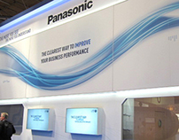 Panasonic IFSEC Event Stand Design