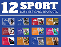 12 Sport Business Card Templates