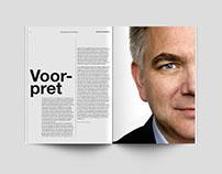 DTP Volkskrant magazine