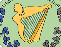 Irish in the American civil war logo