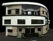 The Architecture Design of Pars Factory Office - 2010