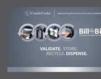 CashCode Bill-to-Bill 8x10 Trade Show Booth