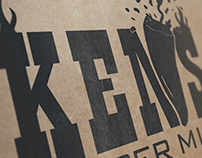 Ken's Pepper Mill Branding