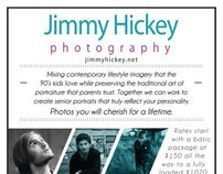 Flier: Jimmy Hickey Photography