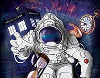 """Time Traveler"" (Editorial Illustration)"