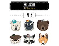 "Calendar, 2014 ""Berlin Zoo 170 Years"""