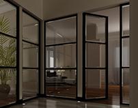 corridor & Dining room.