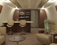 Luxury Jetliner Interior