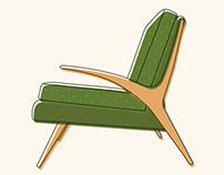 Mid Century Modern Chairs