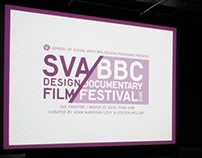 SVA/BBC Design Documentary Film Festival