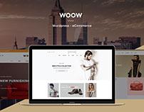 WOOW - Powerful Wordpress eCommerce Theme
