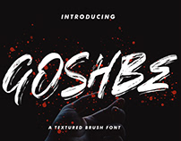 FREE | Goshbe Street Brush Font