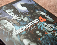 Uncharted 4 Steelbook Artwork