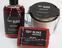 Tidy Bloke Grooming Kit Packaging