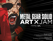 Metal Gear Solid × Art Jam