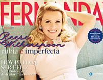 Fernanda Magazine covers 2014-2015