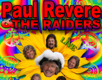 Paul Revere and the Raiders Live - Flower Power