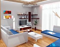 INTERIOR: Living Room N.D