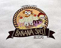 Banana Split Delícias - Branding
