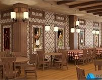 INTERIOR: Traditional Restaurant