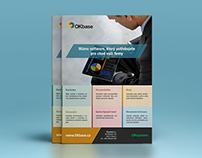 Business software leaflet
