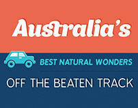 Natural Wonders of Australia / infographics