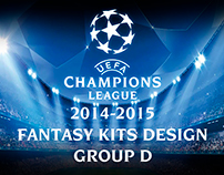 UEFA Champions league 2014-15 fantasy kits design