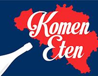 Komen Eten 2017 title sequence