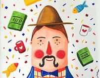 Herr Mustache