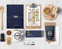 Balto waffles & Café Branding