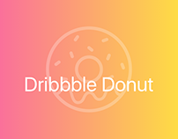 DRIBBBLE FIRST POST • ANIMATION • DONUT