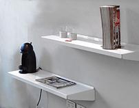Estante Mensula Inf/ Lower Bracket Shelf