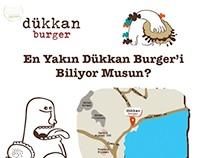 Dükkan Burger Poster and Mobile Game Demo Design